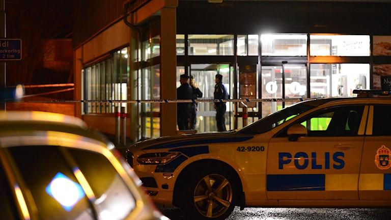 Butiksrån i Finspång.