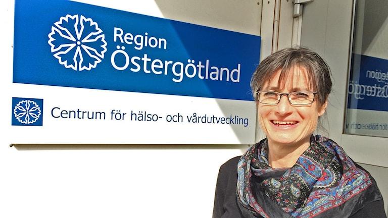 Smittskyddsläkare Britt Åkerlind.