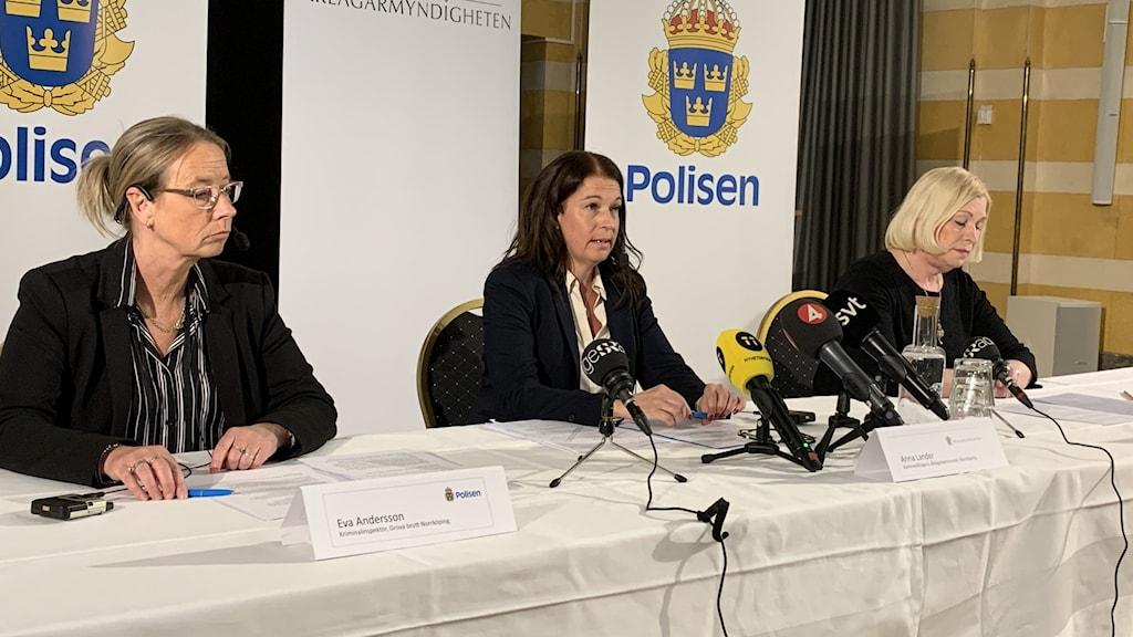 Presskonferens treåringen Esmeralda. Anna Nedvik.