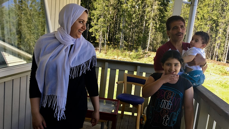 Familjen Ikram, Fahed, Aya och Akram