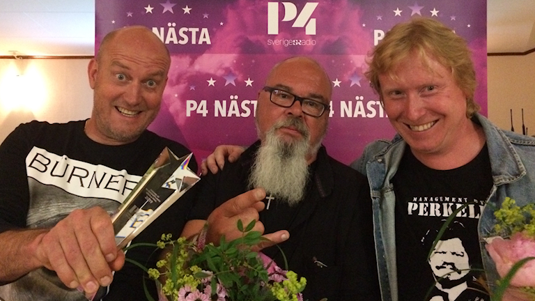 Björn Ohlson, Mats Turesson och Janne Andersson.