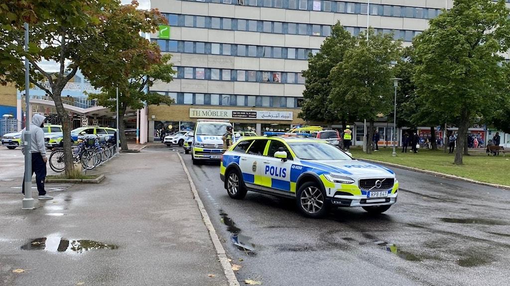 I Linköping har det den senaste tiden skett en våldsupptrappning.
