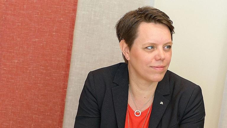 Marie Morell (M), 2:e vice ordförande i regionstyrelsen.