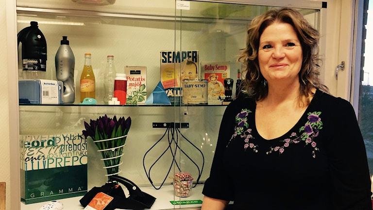 Ann Dohse, ordförande för Svenskt Uppfinnaremuseum.