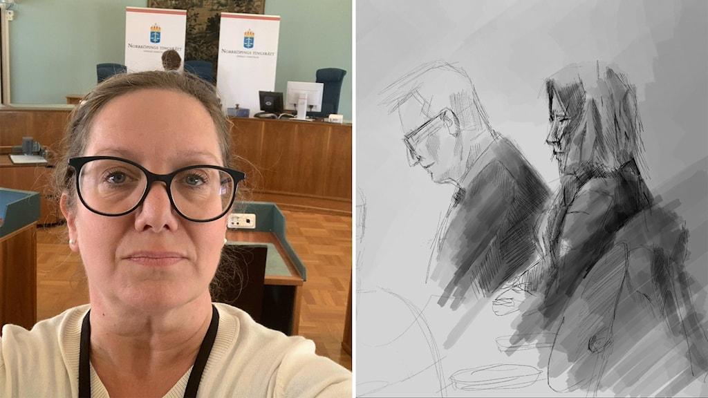 Reporter Jenny Grentzelius om domen mot treåringens mamma.