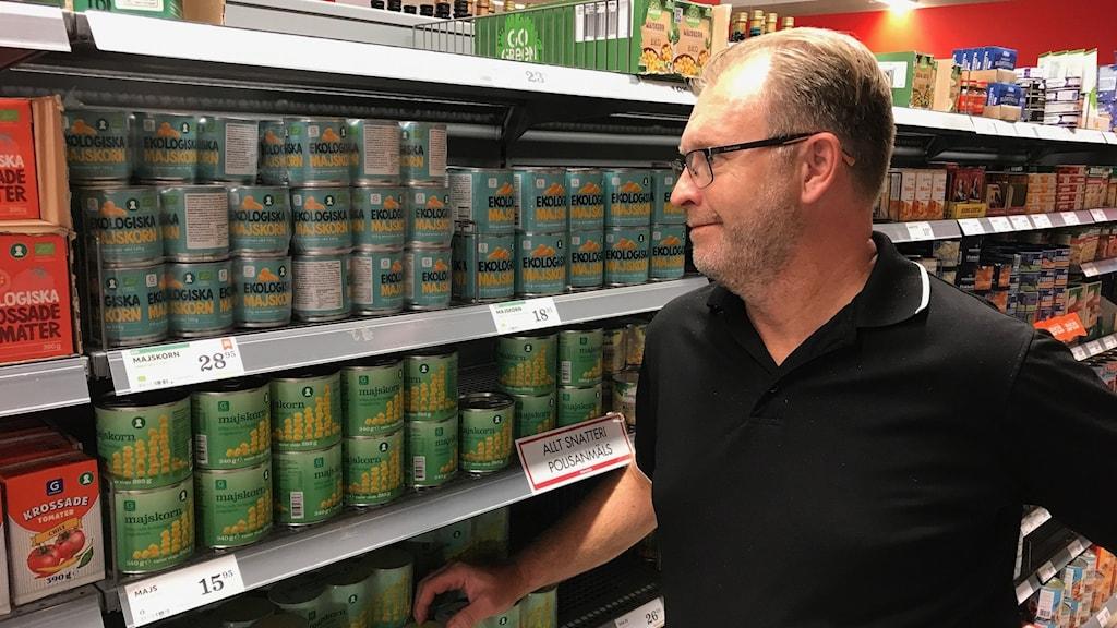 Per Arén, handlare i Norrköping.