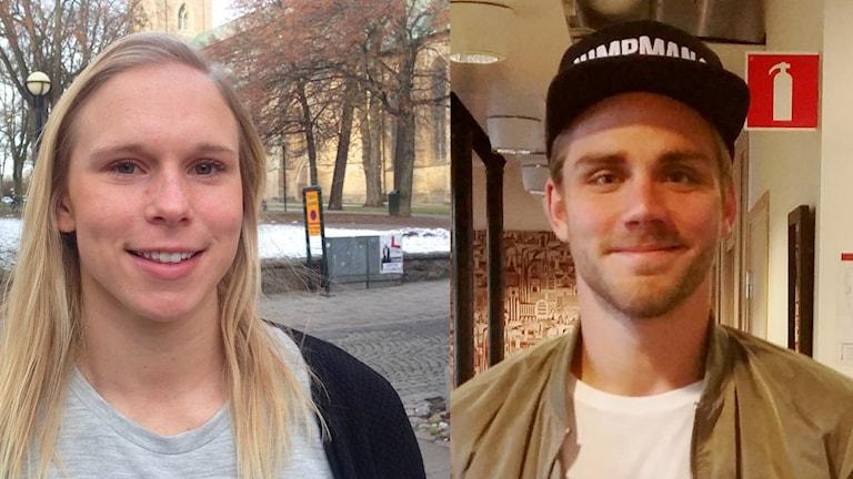 Jonna Andersson och Christoffer Nyman.