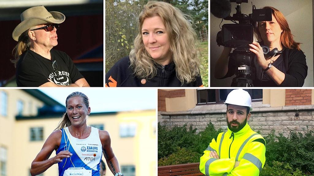 Kandidater Årets Östgöte 2019 montage