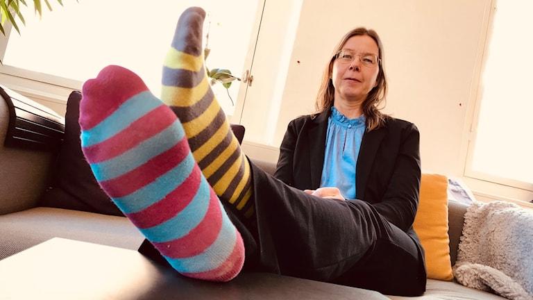 Veronica Svärd Nilsson från Downsföreningen Östergötland.