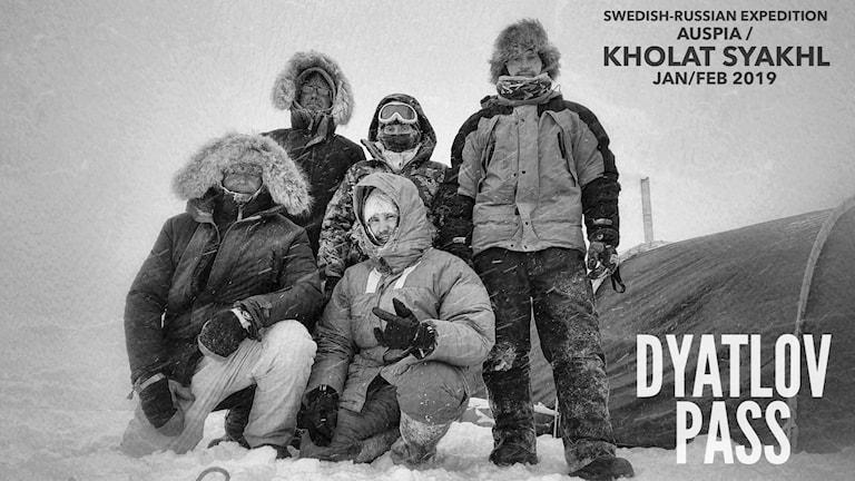 Expeditionen till Djatlovpasset 2019.