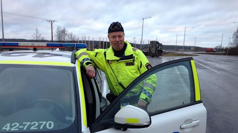 Dennis Örnborg, trafikpolis.