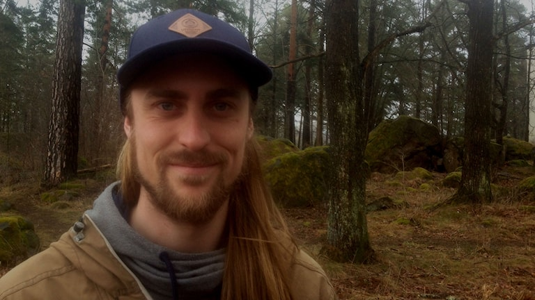 Per Gustavsson arbetar som arborist.