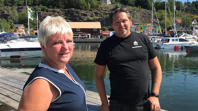 Mimmi Trysberg och Fredrik Högdal Nöjeskarusellen Valdemarsvik