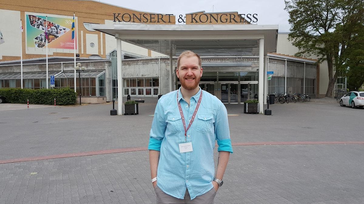 Charles Åkerblom Roskvist, ordförande  RFSU Östergötland.