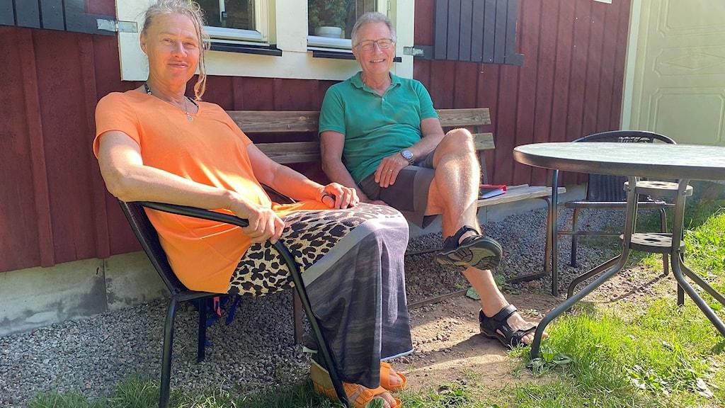 Christina Björnelf och Jens Rinman.