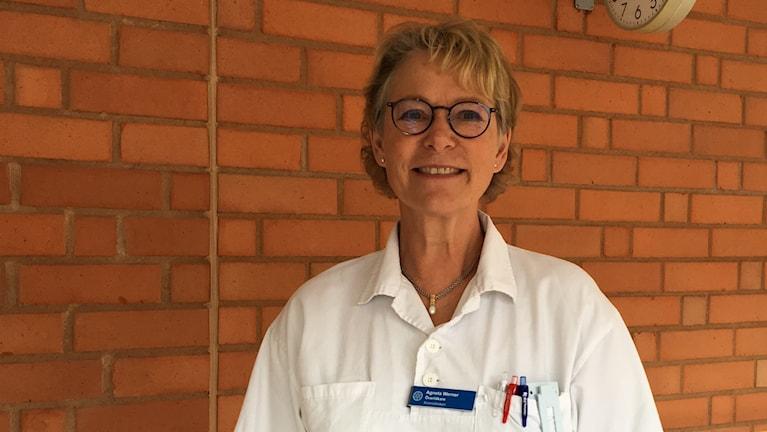 Agneta Werner, Överläkare kvinnokliniken.