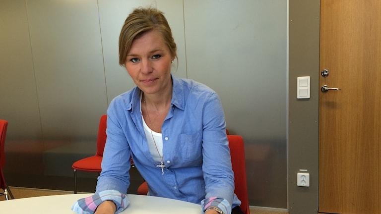 Sofia Jarl (M) oppositionsråd i Norrköping Foto: Lisen Elowson Tosting/Sveriges Radio