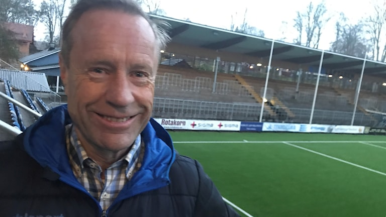 Åtvidabergs FF:s ordförande Ingvar Gustavsson.