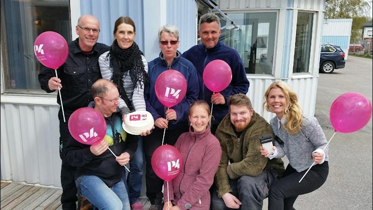 Anders Sköld, Teresa Fältman, Eva Münther, Micke andersson, Pelle Pettersson, Frida Palm, Pontus Sandberg och Titti Elm.