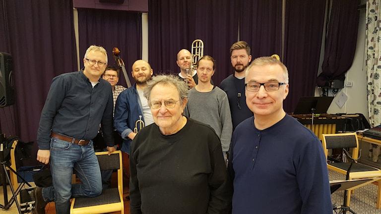 Georg Riedel och Hans Åkesson från Östgötabandet.