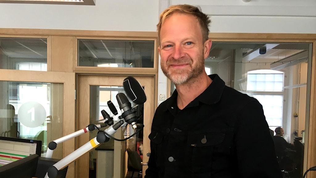 Niklas Cserhalm, museidirektör på Arbetets museum i Norrköping.