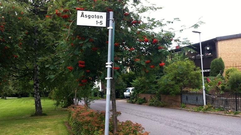 Åsgatan Linköping.