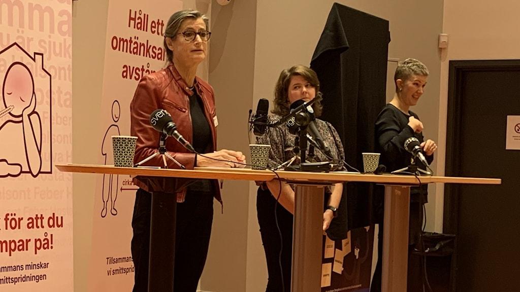 Presskonferens region Östergötland