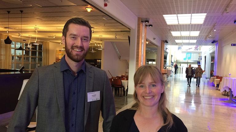Jussi Eklöf, Frivilligcentralen Linköpings kommun och Sara Djupsund, Socialstyrelsen