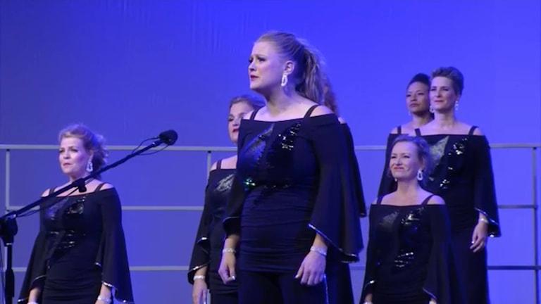 Maria Porath från linköping är med i barbershopkören Malmö Limelight Chorus har tagit guld i Sweet Adelines International Competition i Las Vegas.