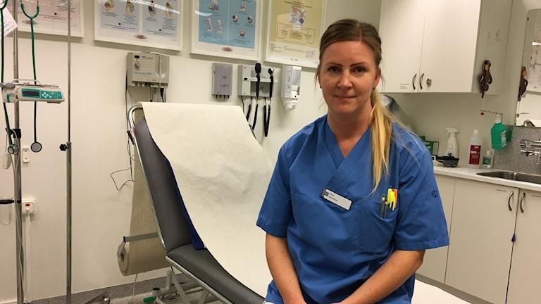 Anna Klinteskog, Sjuksköterska.