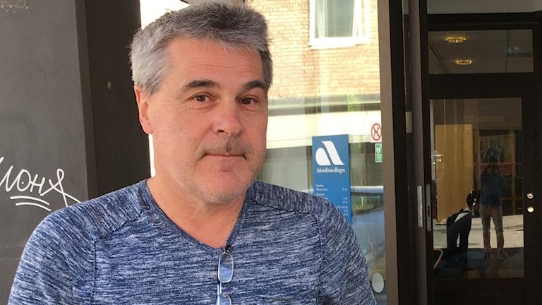 Håkan Lindell, analytiker på Arbetsförmedlingen i Linköping.