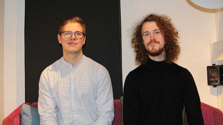 Jonathan Stribrny och Jonny Ek från New Scandinavian Roots.