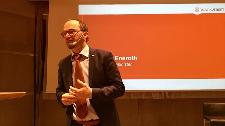 Tomas Eneroth, infrastrukturminister.