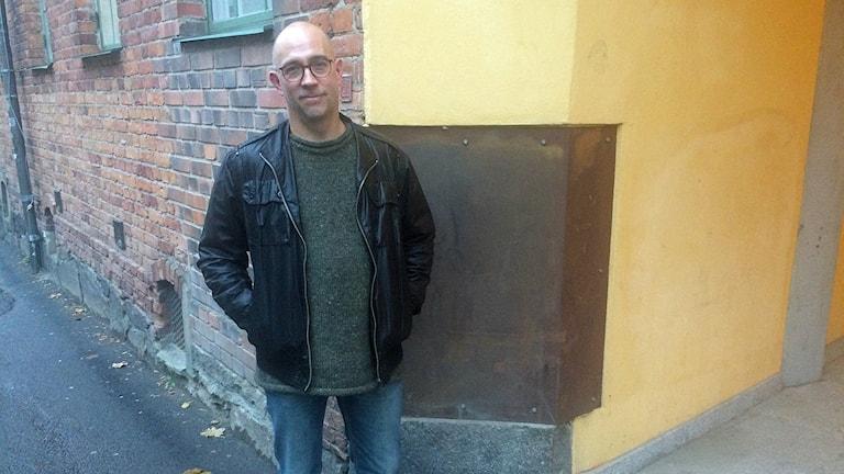 Forskaren Mats Brusman.