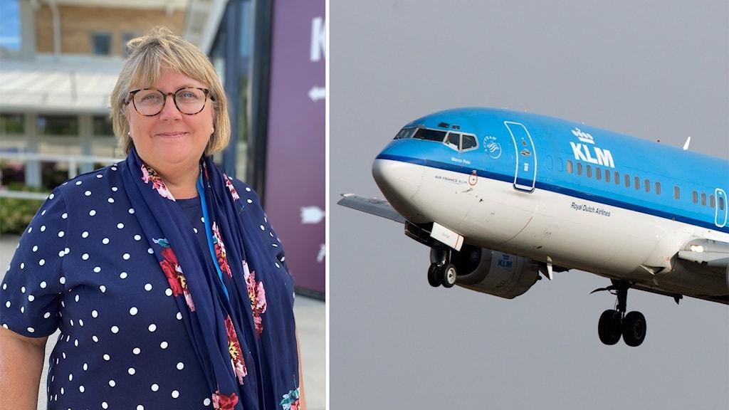 Flygbolaget KLM återupptar resorna mellan Linköping och Amsterdam efter ett längre uppehåll på grund av pandemin.