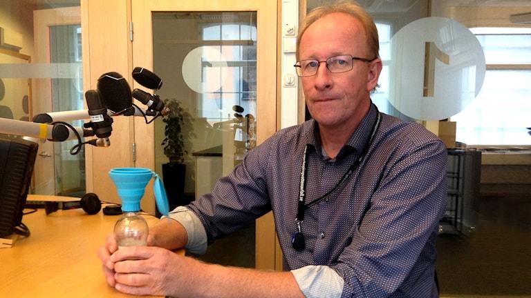 Michael Botvidsson, affärsområdeschef VA på Norrköping vatten och avfall