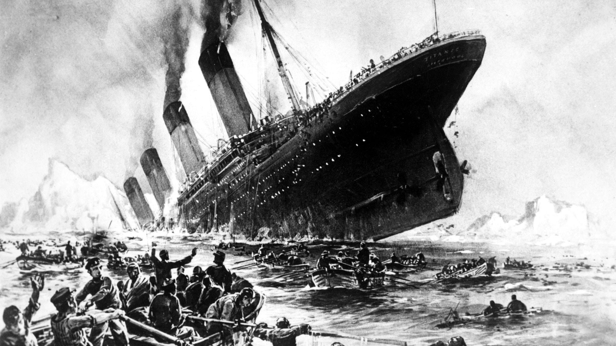 Hon överlevde Titanic