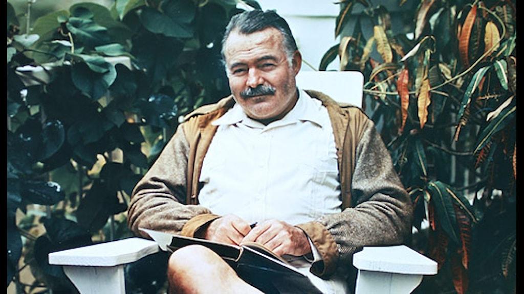 Ernest Hemingway 1948. Scanpix.