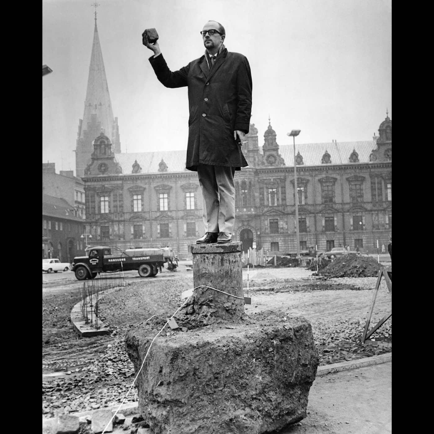 Radiofynd: Blå Tummen – den sjuka humorn gör entré 1958