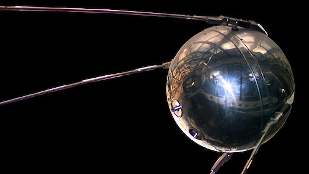 Sputnik. Foto: Nasa.