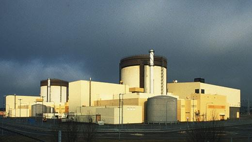Ringhals kärnkraftverk – reaktor 3 och 4. SVT bild.