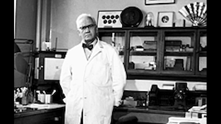 Alexander Fleming. Foto: SVT Bild