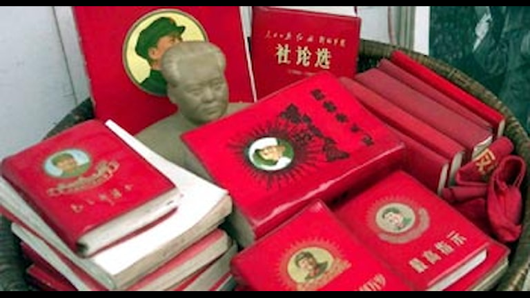 Maos lilla röda. Foto: Scanpix.