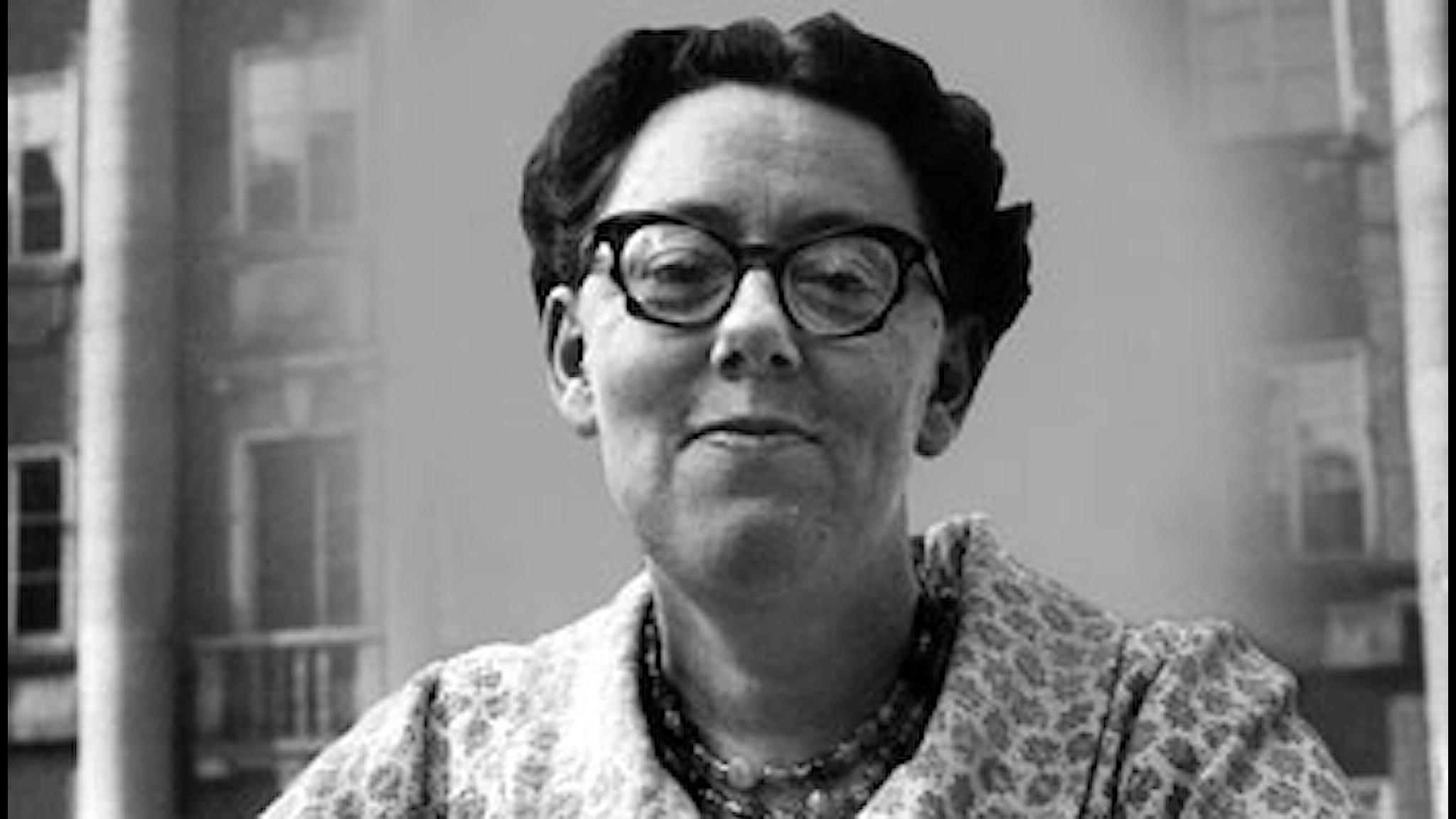 Dagmar Lange alias Maria Lang 1959. Foto: SVT Bild.