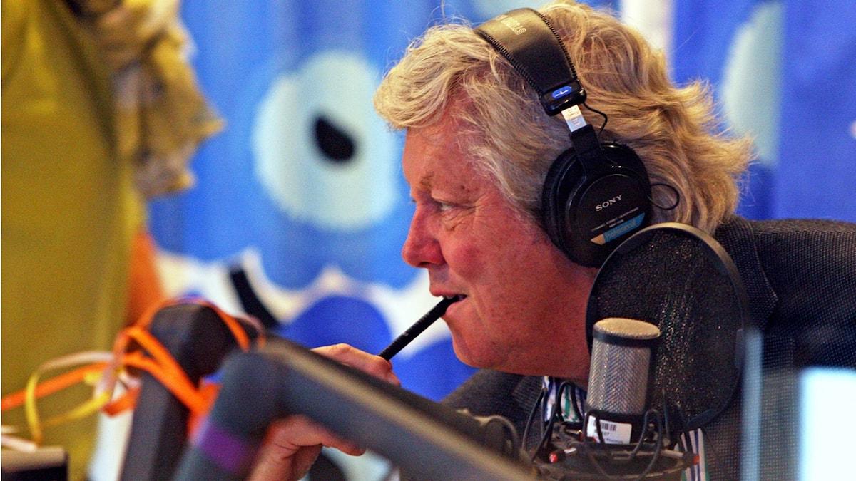 Ulf Elfving. Foto Benjamin Thorén. SVT Bild.
