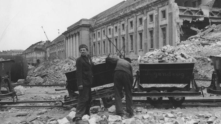 Hamburg efter kriget 1946