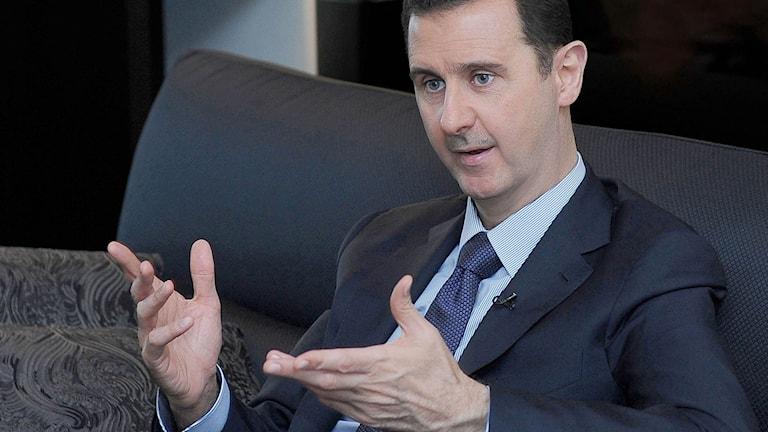 Bashar al-Assad 2013./TT