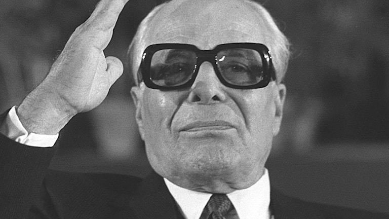 Tunisiens landsfader Habib Bourguiba 1979./TT