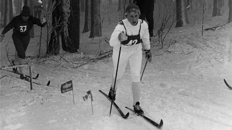 Toini Gustafsson 1965, Foto: SVT Bild