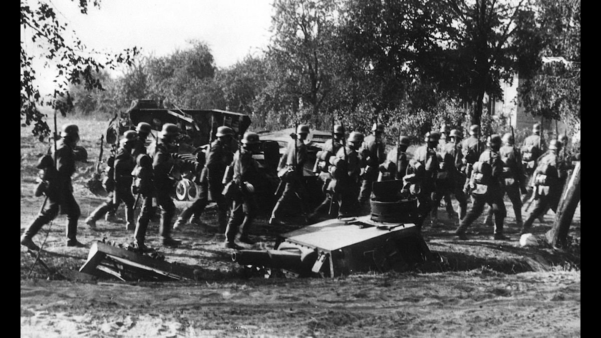 Tyskland invaderar Polen 1939./TT